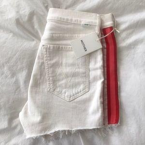 Mother Sinner Whipped Cream Racer Shorts